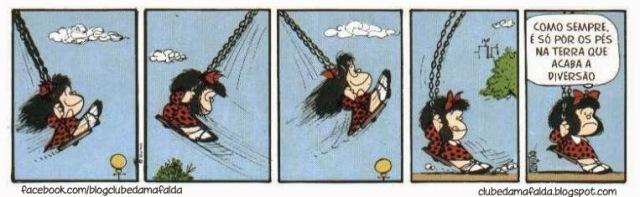 Mafalda fantasia e realidade