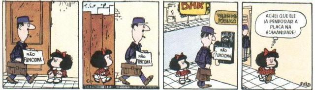 Mafalda Humanidade Inoperante