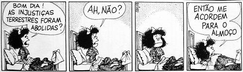 Mafalda Injustiça