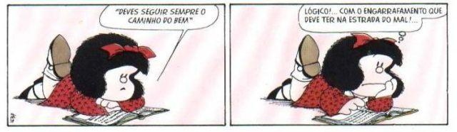 Mafalda o bem e o mal