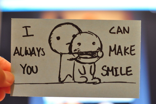 Amizade sorriso